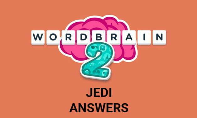 Wordbrain 2 Jedi Answers