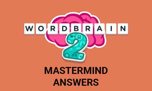 Wordbrain 2 Mastermind Answers