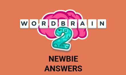 Wordbrain 2 Newbie