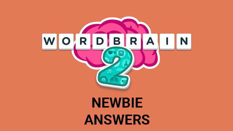 Wordbrain 2 Newbie