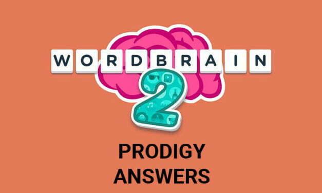 Wordbrain 2 Prodigy Answers