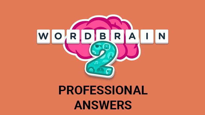 Wordbrain 2 Professional