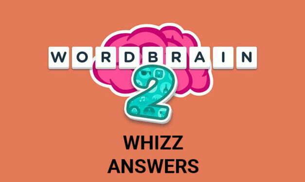 Wordbrain 2 Whizz Answers