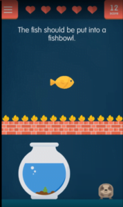 tricky test get smart mobile game