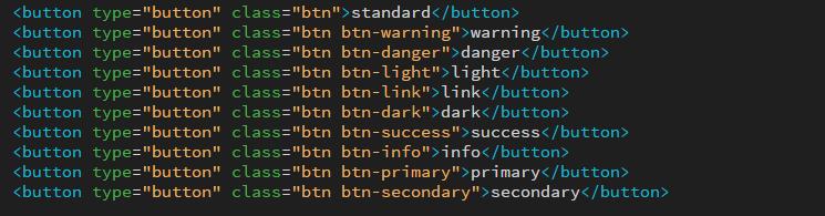 bootstrap button code