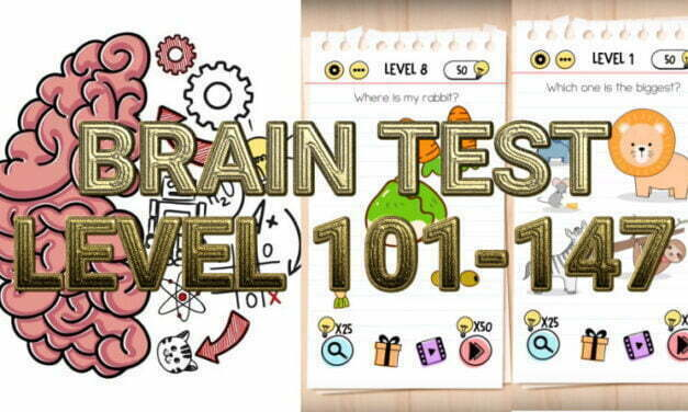 Brain Test: Tricky Puzzles Level 101-147 Answers