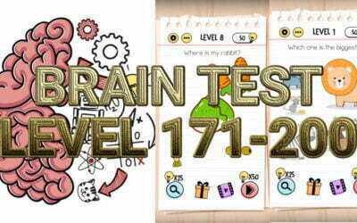 Brain Test: Tricky Puzzles Level 171-200 Answers