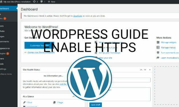 How To Enable SSL In A WordPress Website