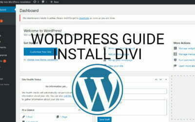 How To Install Divi In A WordPress Website
