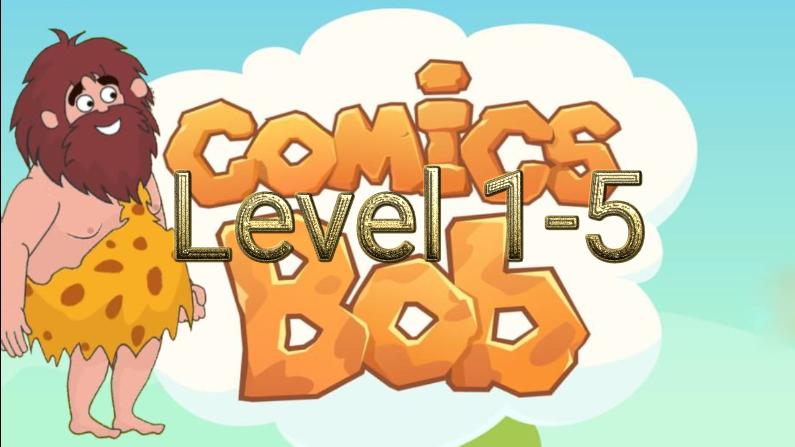 Comics Bob Level 1-5 Answers
