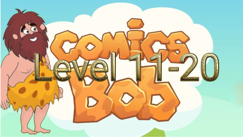 Comics Bob Level 11-19 Answers