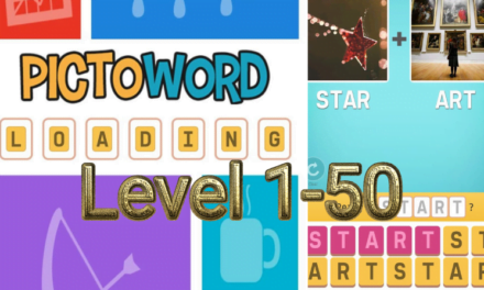 Pictoword: Fun Word Games Level 1-50 Answers