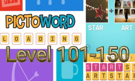 Pictoword: Fun Word Games Level 101-150 Answers