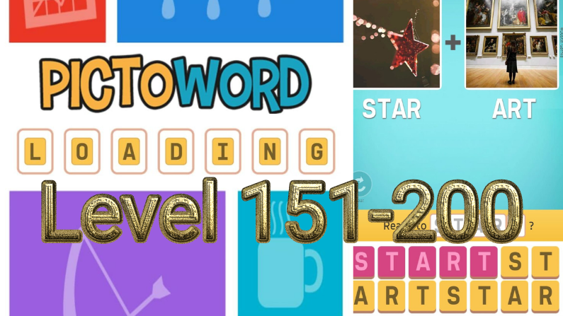 Pictoword: Fun Word Games Level 151-200 Answers