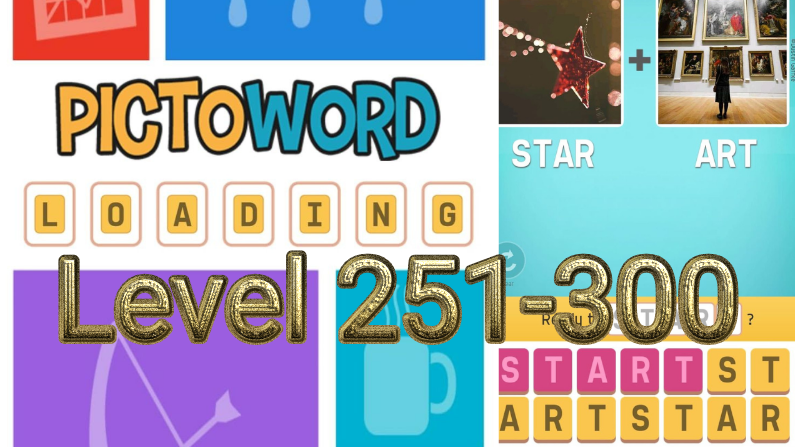 Pictoword: Fun Word Games Level 251-300