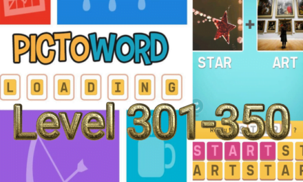 Pictoword: Fun Word Games Level 301-350