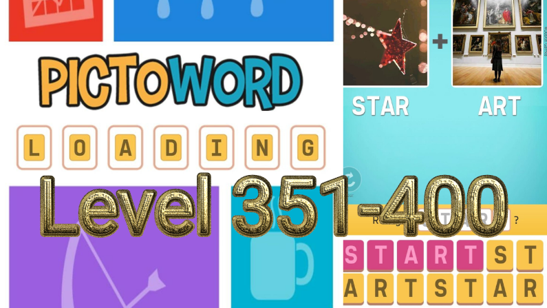 Pictoword: Fun Word Games Level 351-400
