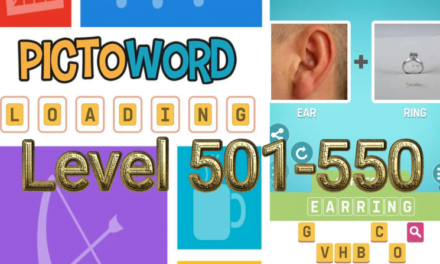 Pictoword: Fun Word Games Level 501-550