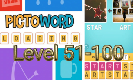 Pictoword: Fun Word Games Level 51-100 Answers