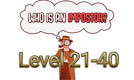 Who Is Imposter? Level 21-40 Answers