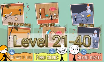 Skip Love Level 21-40 Answers