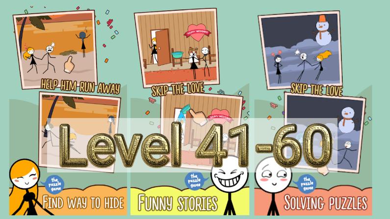 Skip Love Level 41-60 Answers