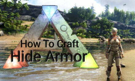 How To Craft Hide Armor In Ark Survival Evolved