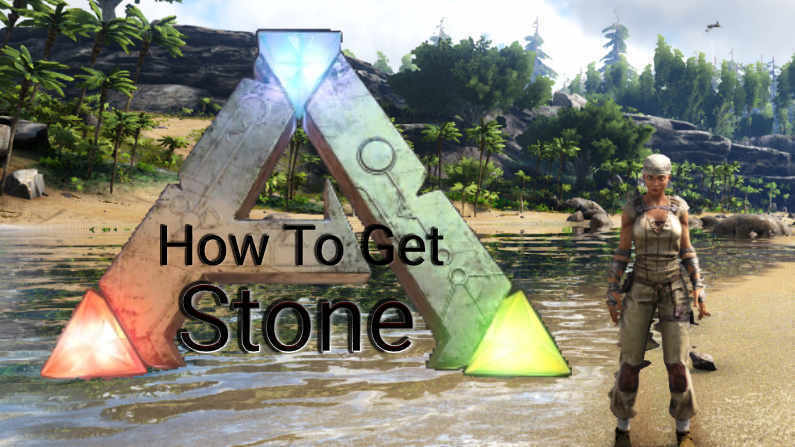 How To Get Stone In Ark Survival Evolved?