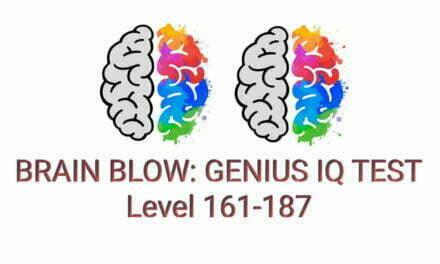 Brain Blow: Genius IQ Test Level 161-187