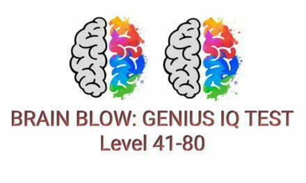 Brain Blow: Genius IQ Test Level 41-80