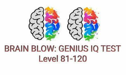 Brain Blow: Genius IQ Test Level 81-120