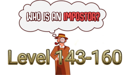 Who Is Imposter? Level 143-160