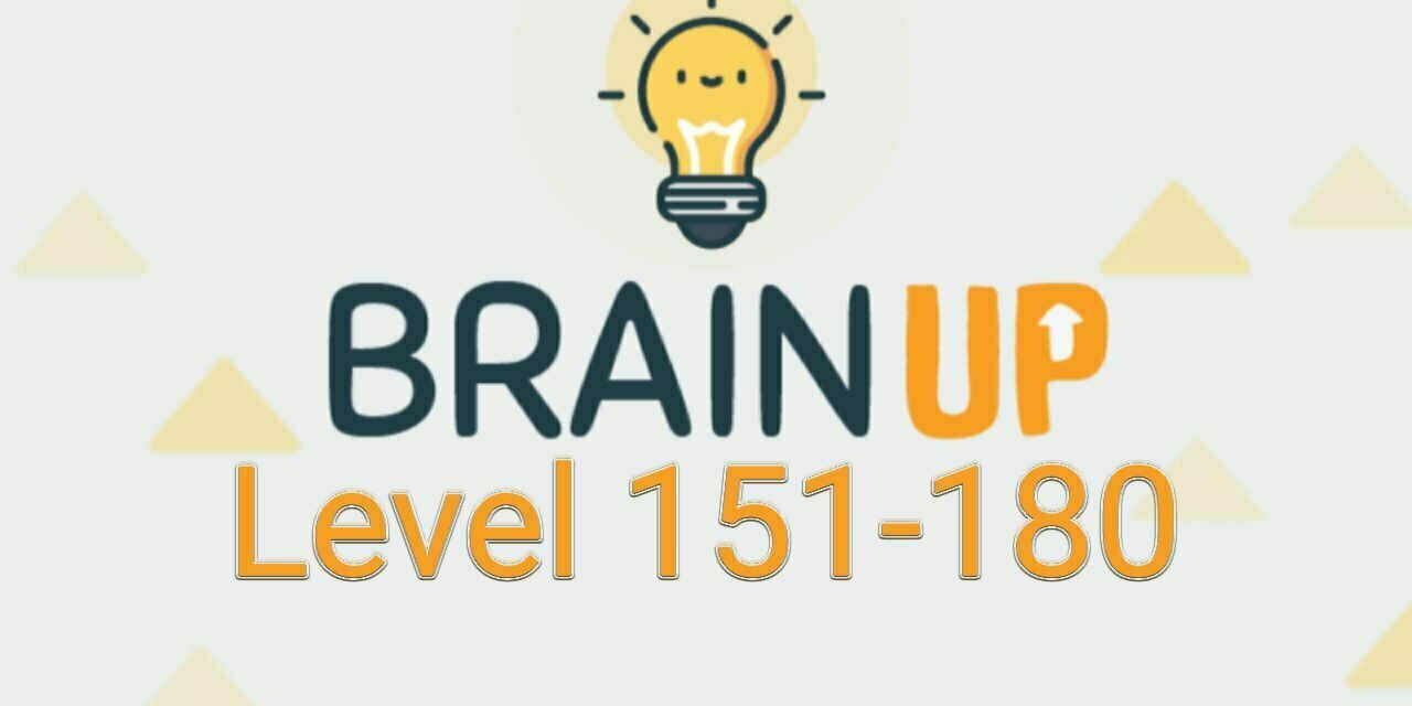 Brain Up – Tricky Puzzles Level 151-180