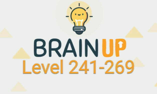 Brain Up – Tricky Puzzles Level 241-269