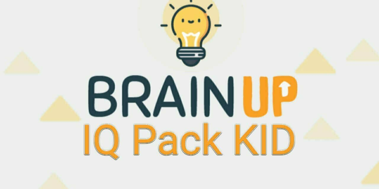 Brain Up – Tricky Puzzles – IQ Pack Kid