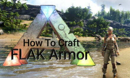 How To Craft FLAK Armor In Ark Survival Evolved