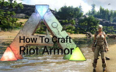 How To Craft Riot Armor In Ark Survival Evolved